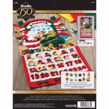 Bucilla Felt Advent Calendar Kit- Santa's Shop
