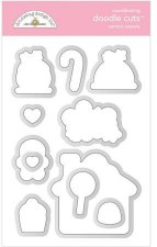 Christmas Magic Stamps/Dies- Santa's Sweets Doodle Cuts
