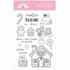 Christmas Magic Stamps/Dies- Santa's Sweets Doodle Stamps