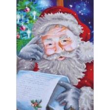 Diamond Facet Art Kit- Santa's Wish List