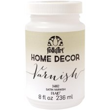 FolkArt Home Decor Vanish 8 oz- Satin Finish
