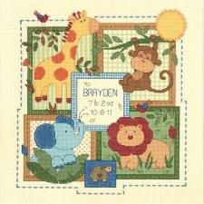Dimensions Cross Stitch Kit- Birth Record, Savannah