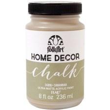 FolkArt Home Decor Chalk Paint 8 oz- Savannah