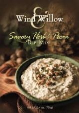 Wind & Willow Dip Mix- Savory Herb & Pecan