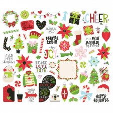 Say Cheese Christmas Bits & Pieces Die Cuts