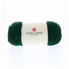 Studio Classic Acrylic Yarn, Solid- Deep Green
