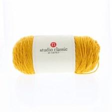 Studio Classic Acrylic Yarn, Solid- Golden Yellow