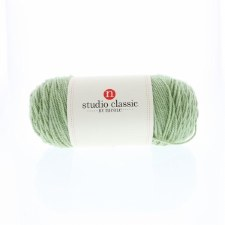 Studio Classic Acrylic Yarn, Solid- Leaf Green