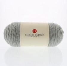 Studio Classic Acrylic Yarn, Solid- Soft Gray