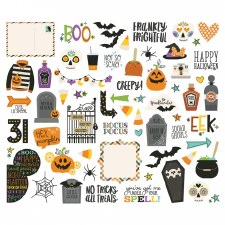 Say Cheese Halloween Die Cuts- Bits & Pieces