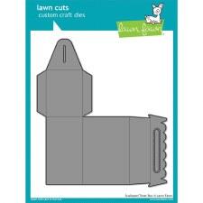 Lawn Fawn 3D Craft Dies- Scalloped Treat Box