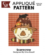 Applique Pattern- Scarecrow