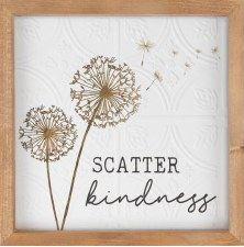 Framed Art Sign- Scatter Kindness