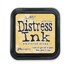 Tim Holtz Distress Ink- Scattered Straw Ink Pad