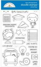 School Days Doodlebug School Boy Doodle Stamps
