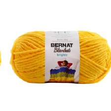 Bernat Blanket Yarn- School Bus Yellow