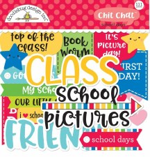 School Days Die Cuts- Chit Chat