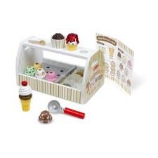 Melissa & Doug Food/Kitchen Play Set- Scoop & Serve Ice Cream Counter