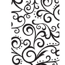 Darice Embossing Folder- Background- Scrolls