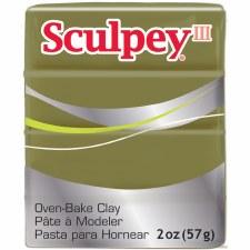 Sculpey III Polymer Clay - Camoflage