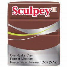 Sculpey Premo Polymer Clay - Chocolate 2oz