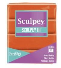 Sculpey III Polymer Clay - Just Orange