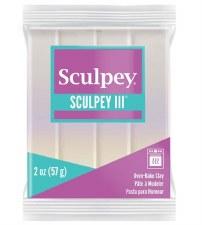 Sculpey III Polymer Clay - Pearl