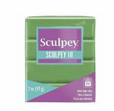 Sculpey III Polymer Clay - String Bean