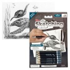 Sketching Made Easy Set- Sea Turtles