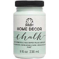 FolkArt Home Decor Chalk Paint 8 oz- Seaside Villa