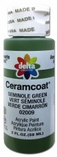 Delta Ceramcoat Acrylic Paint, 2oz- Green: Seminole Green