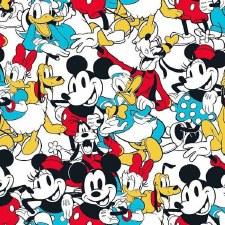 Mickey Bolted Fabric- Sensational Six
