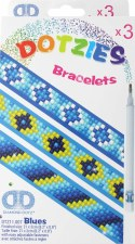 Dotzies Bracelets- Shades of Blue