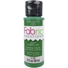 Fabric Creations 2oz Fabric Paint- Shamrock
