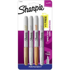 Sharpie Metallic Markers, 4ct