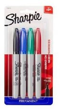 Sharpie Fine Point, 4pk