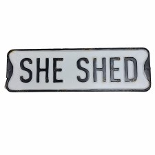 She Shed Sign- Street