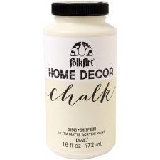 FolkArt Home Decor Chalk Paint 16oz- Sheepskin