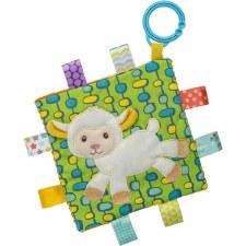 Taggies Crinkle Me Baby Toy- Sherbert Lamb