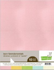 Lawn Fawn Shimmer Cardstock Pack- Pastel