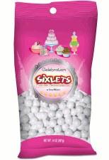 SweetWorks Celebration Sixlets 14oz- Shimmer White