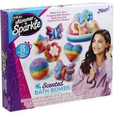 Cra-Z-Art Shimmer & Sparkle Craft Kit- MYO Scented Bath Bombs