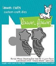 Lawn Fawn Reveal Wheel Add-On Craft Dies- Shooting Star
