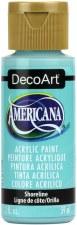 Americana Acrylic Paint, 2oz- Blues: Shoreline