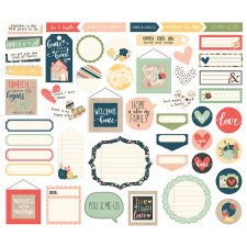 So Happy Together Bits & Pieces Journal Die Cuts