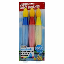 RoseArt Jumbo Sidewalk Chalk Brushes