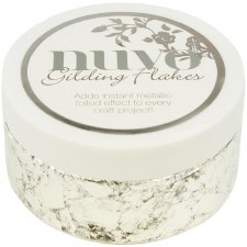 Nuvo Gilding Flakes- Silver Bullion