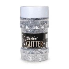 Darice Glitter 4 oz. Jar- Silver