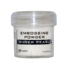 Embossing Powder- Silver Pearl