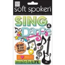 MAMBI Soft Spoken Stickers- Dance- Sing & Dance